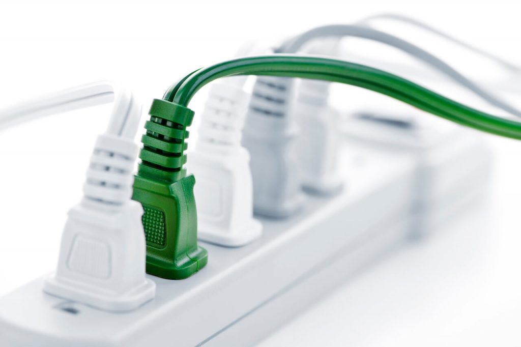 electrical safety in the home can be improved with surge-protecting power strips
